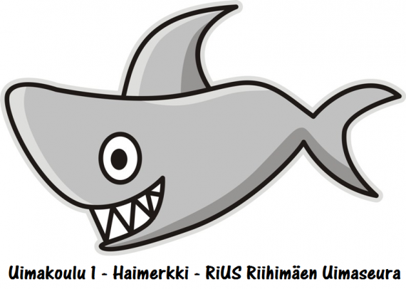 3. Uimakoulu 1 - Haimerkki 105 kpl