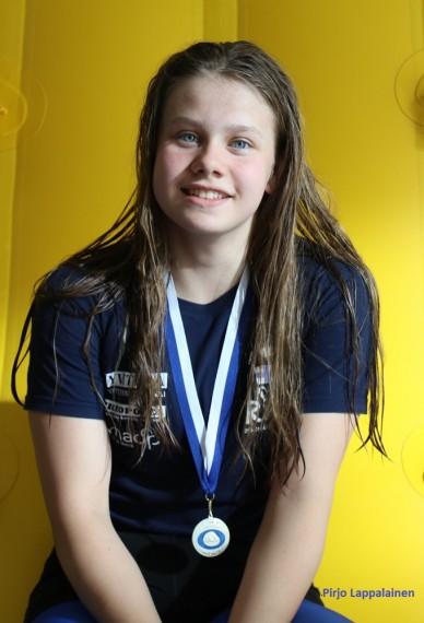 Annukka IKM hopeaa 20 m pu 18.6.2017