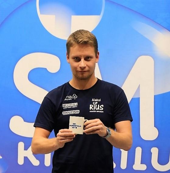 Aleksi Rajansuo SM-valmentaja (2)