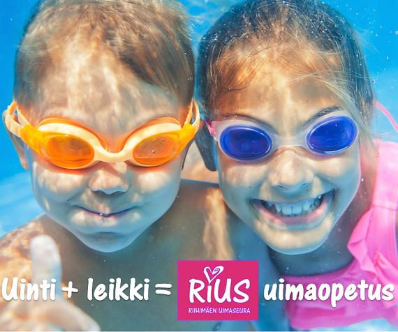 Uinti ja leikki on RiUS uimaopetus (2)